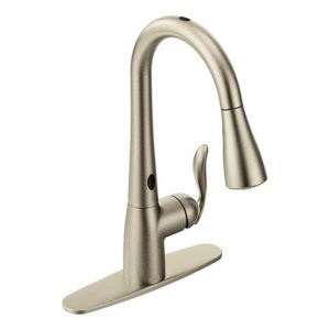 1.-Moen-Arbor-Motionsense-Two-Sensor-Touchless-One-Handle-High-Arc-Pulldown-Kitchen-Faucet