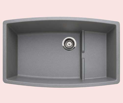 Blanco 440067 Performa Single-Basin Undermount Granite Kitchen Sink