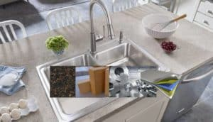 What is The Best Kitchen Sink Material -Types of Kitchen Sinks Materials